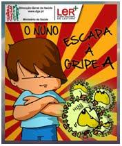 """História: """"O Nuno escapa à Gripe A"""""""