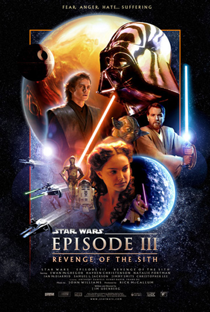 Star Wars Episode III Revenge of the Sith. It is three years after