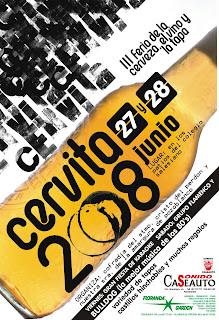 CARTEL ANUNCIADOR CERVITA 2008