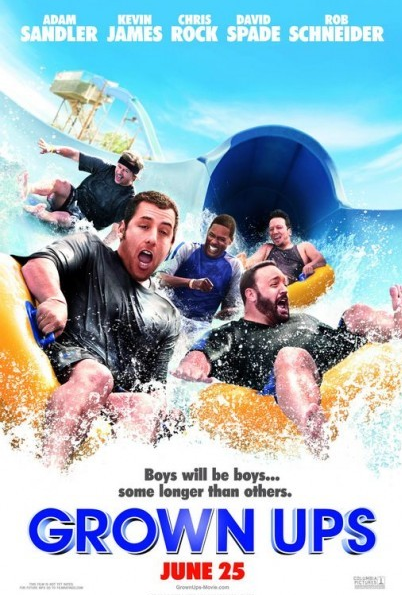 holidays 2010 movie. Grown Ups 2010