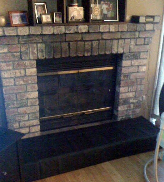 was the fireplace hearth,