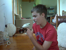Isaiah and the Silkie Chick