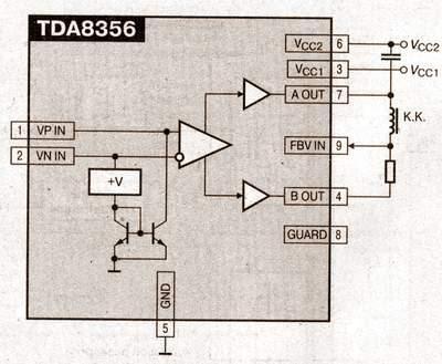 схема подключения tda 8356