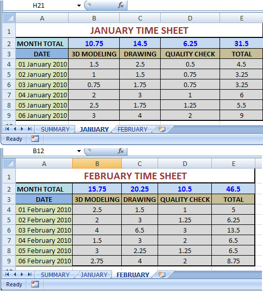 excel how to get the table name on a worksheet