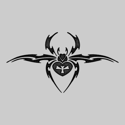 You can DOWNLOAD this Spider Tattoo Design - TATRSP06