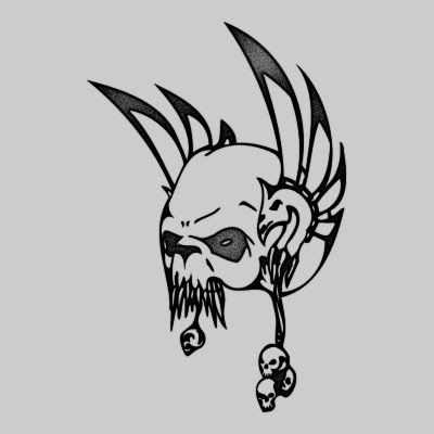 When planning on getting a tribal skull tattoo design, you should first. You can DOWNLOAD this Skull Tattoo Design - TATRSK21