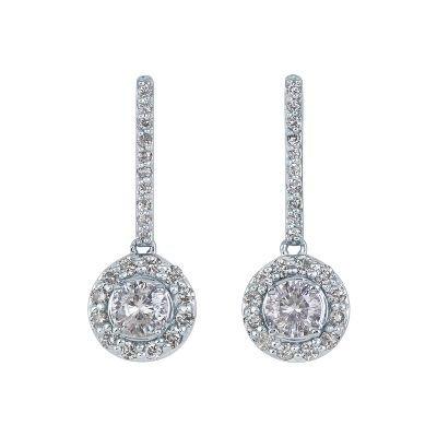 helzberg diamonds imperial moissanite 14kt white gold 2