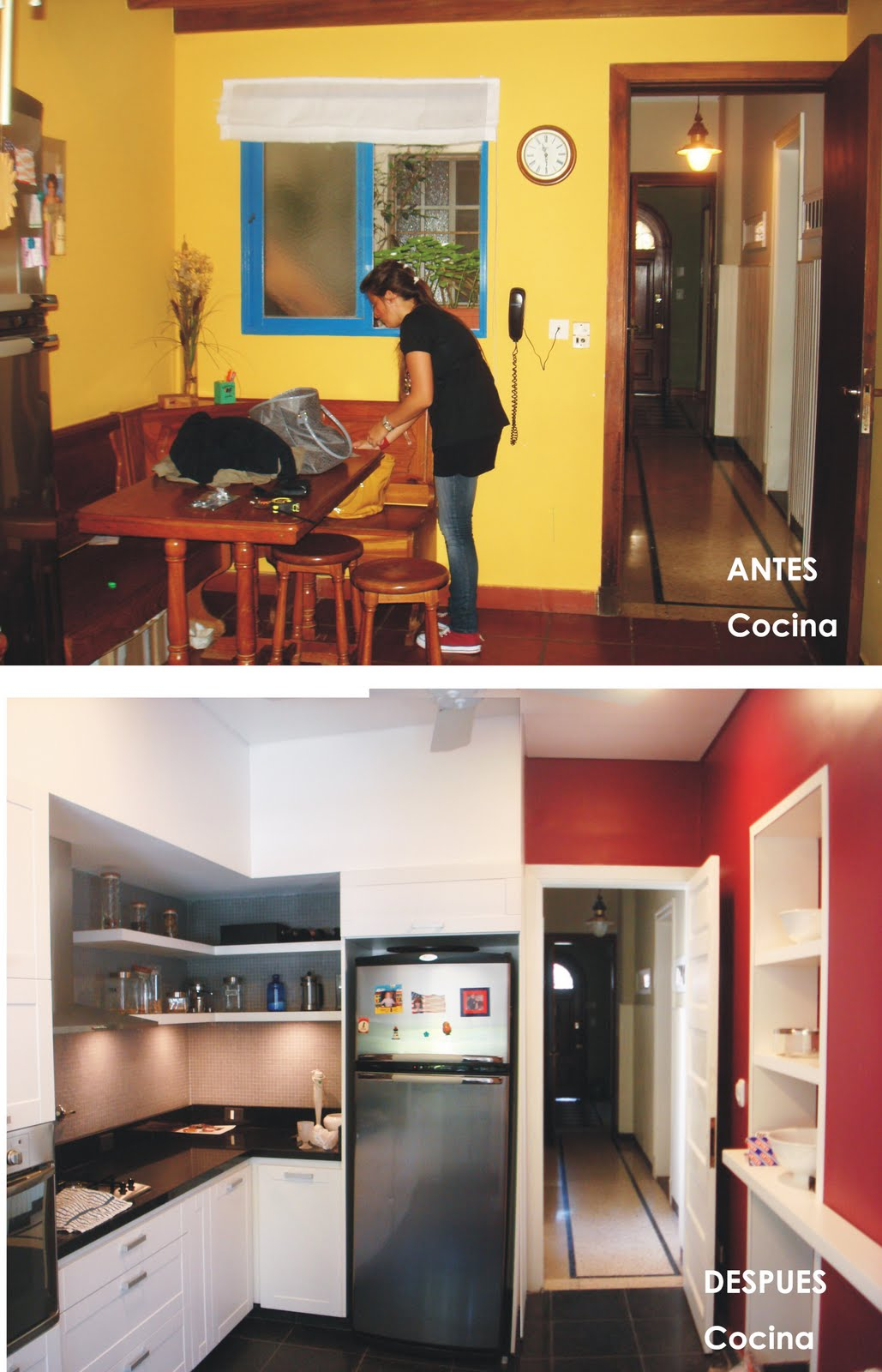 Reforma casa tv 2009 antes y despu s - Reformas de cocinas antes y despues ...