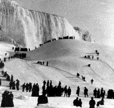 beku2 Bekunya Air Terjun Niagara Tahun 1911