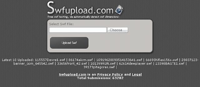 Cách upload file Flash (.swf) lên host  và chèn file Flash cho Blog