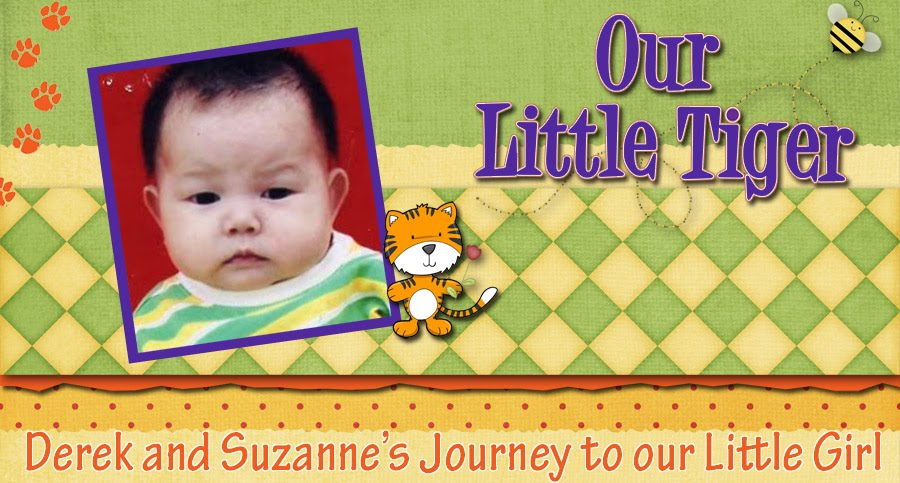 Our Little Tiger: Abigail Jiang Yan Schlotterback