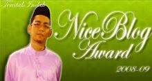 Nice Blog Award 08-09
