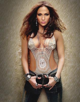 Jennifer Lopez en Fotos muy hot-desnuda, y una cola perfecta