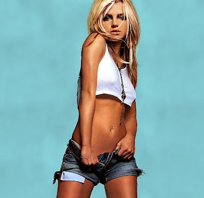 Fotos de Britney Spears hot, desnuda, y con una hermosa cola - 2010