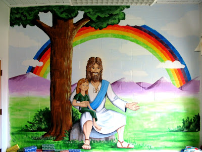 Church Nursery Mural Ideas