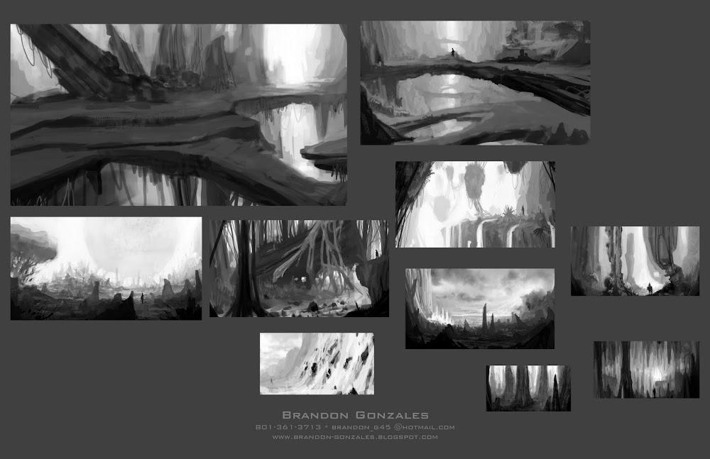 B/W Thumbnails Concepts