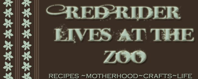 Red Rider lives at the Zoo