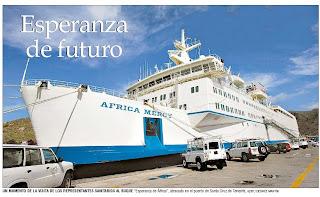 El Esperanza de África, en Tenerife