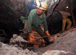Ser minero ilegal en Sudáfrica