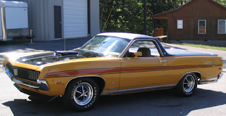 classic car hot 1971 Ford Ranchero 429