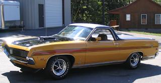classic car hot 1971 Ford Ranchero 429