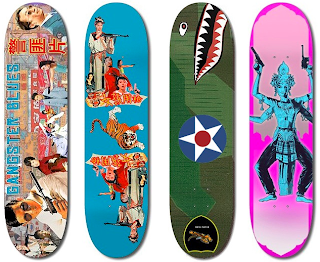 Creative Skateboard Designs