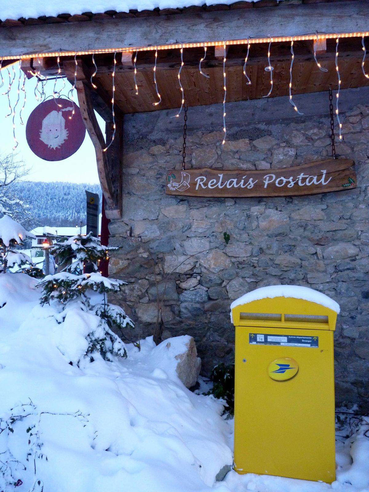 Rue de france le hameau du p re no l le bureau de poste for Bureau de poste