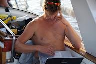 Mailen op zee met de SSB