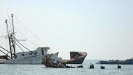 Wrakken voor de kust van Banjul