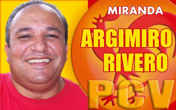 Argimiro Rivero candidato en lista en el Estado Bolivariano de Miranda