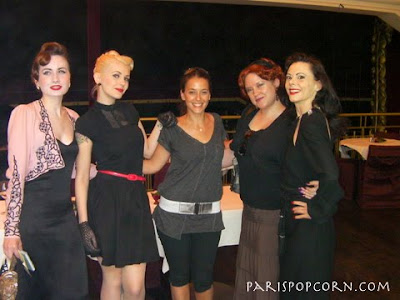 Julietta La Doll, me, Holli-Mae Johnson and Gentry de Paris