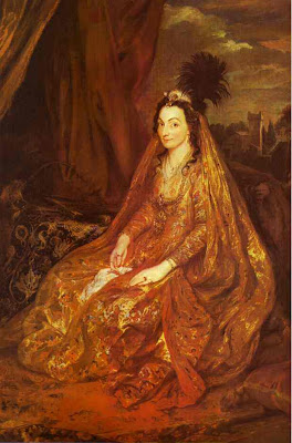 Lady Sherly / painting / by Anthony van Dyck