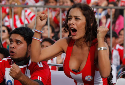 Paraguai fan 2010 Fifa World Cup