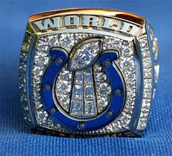 The One Super Bowl Ring...