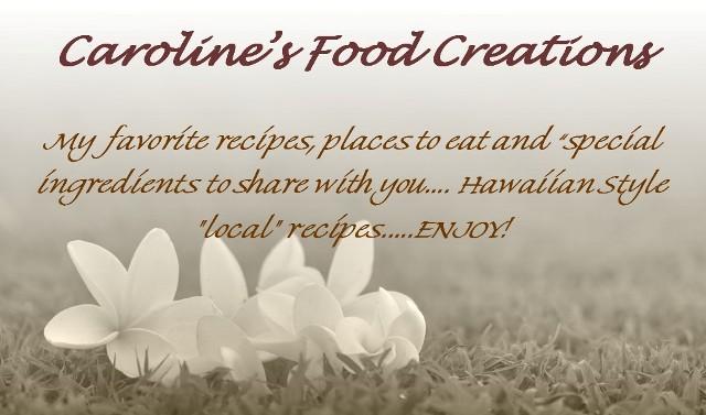 Caroline's Food Creations