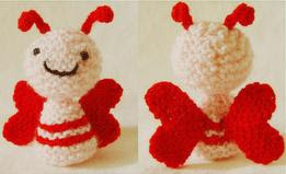Ami Love Bug - Tina's Crochet Page- This is a blog where I keep