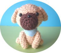 Free Pattern For Amigurumi Dog : Free Amigurumi Patterns: Cute little puppy amigurumi