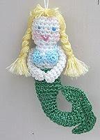 Free Amigurumi Mermaid Patterns : Free Amigurumi Patterns: Mermaid Amigurumi