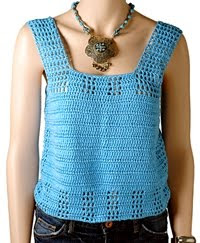 CROCHET FREE PATTERN TANK TOP - Crochet — Learn How to Crochet