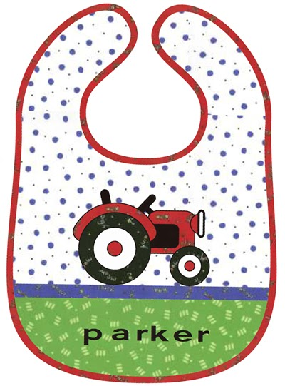Tractor Sewing Pattern : Free sewing patterns tractor bib