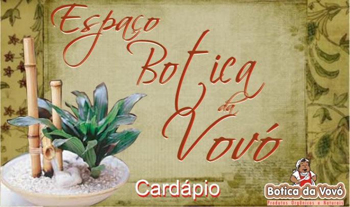 Botica Cardapio