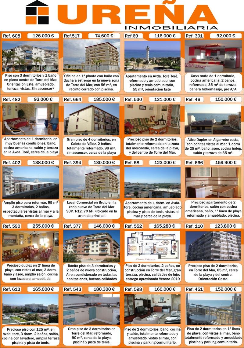 Ure a inmobiliaria folleto de viviendas octubre 2010 - Paginas de viviendas ...