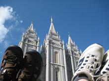 walking on sunshine in Salt Lake City