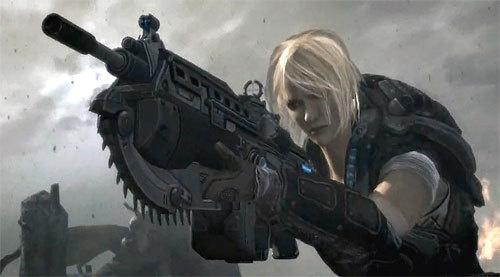 Top 10 mujeres de los videojuegos [Niubie Ranking] Gears+of+war+3ANYA+STROUD