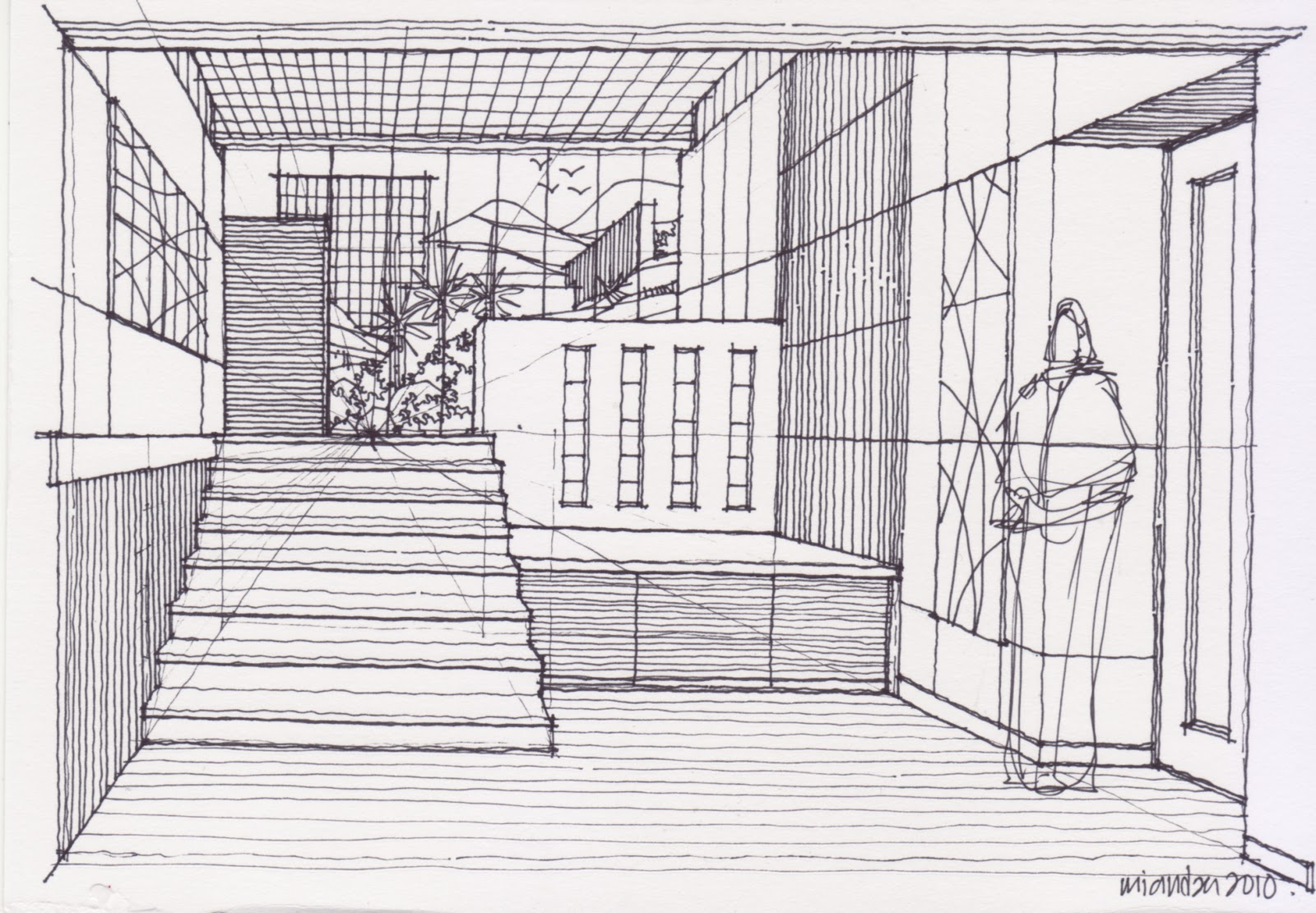 Drawing Techniques Zone Architecture Info How To Draw A Room