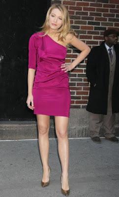 фото Блейк Ливли на Late Show - март 24, 2009
