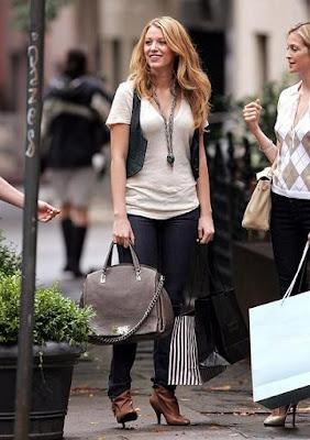 Gossip Girl Bag Style Блейк Ливли