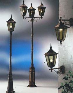 интересные светильники садовые