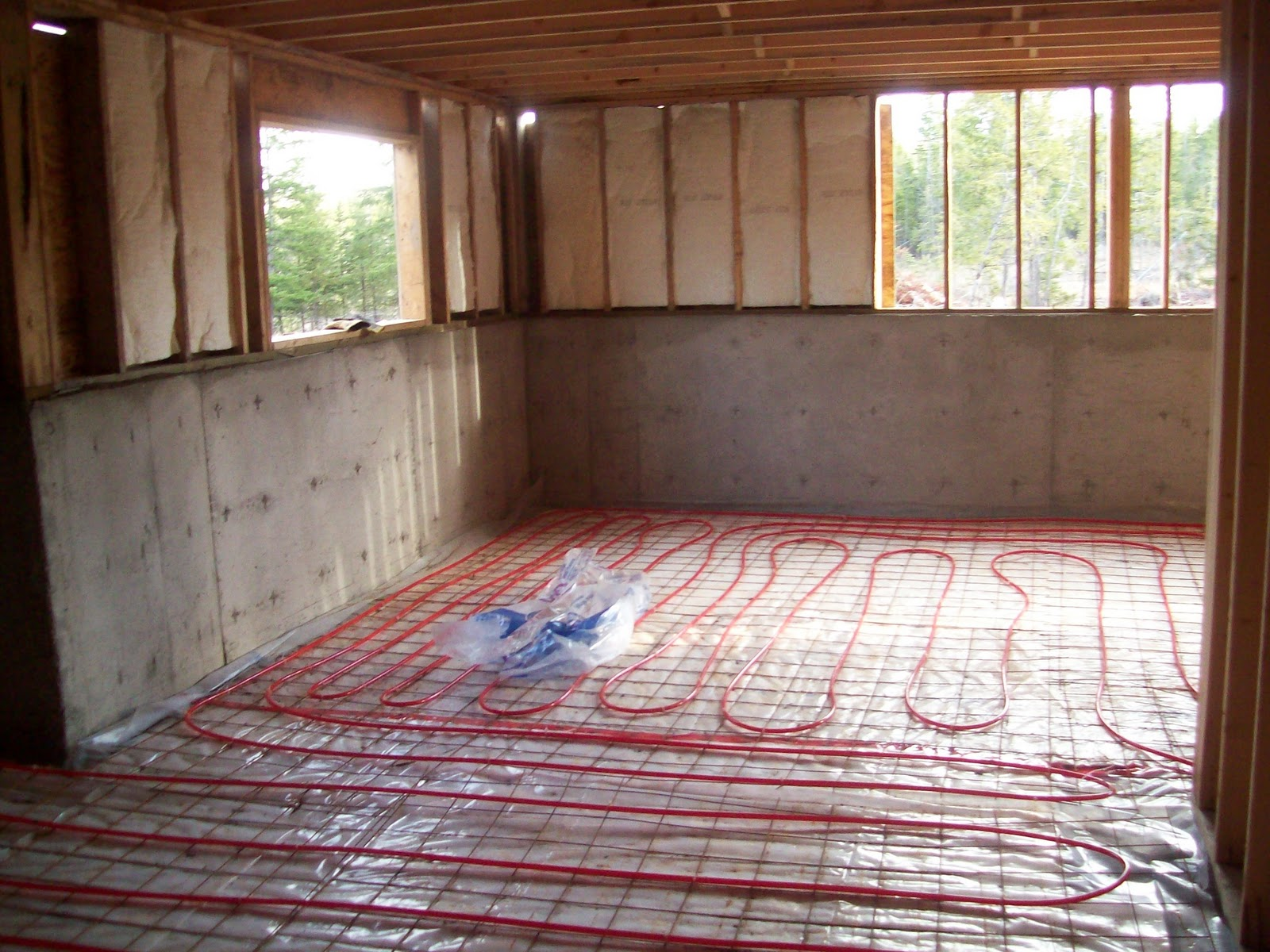 And then there were ten radiant heat basement floors and Radiant floors
