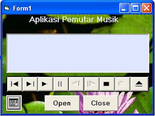 Program Aplikasi mp3 player dengan VB